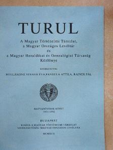 Borsa István - Turul 1951-1992. [antikvár]