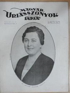 Farkasházy György - Magyar Uriasszonyok Lapja 1935. november 10. [antikvár]