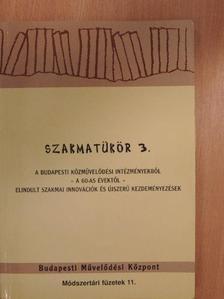 Hegedős László - Szakmatükör 3. [antikvár]
