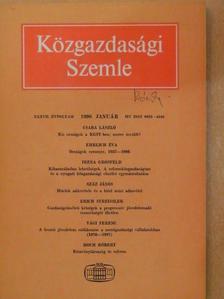 A. Etzioni - Közgazdasági Szemle 1990. január [antikvár]