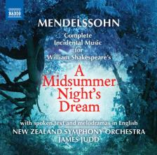 MENDELSSOHN - A MIDSUMMER NIGHT`S DREAM CD JAMES JUDD
