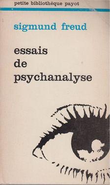 Sigmund Freud - Essais de psychanalyse [antikvár]