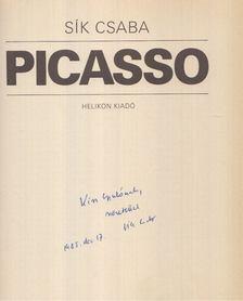 Sík Csaba - Picasso (dedikált) [antikvár]