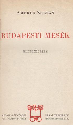 Ambrus Zoltán - Budapesti mesék [antikvár]