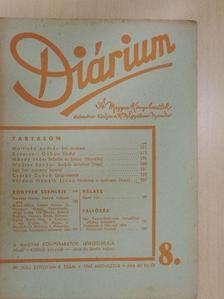 Bárdosi Németh János - Diárium 1943. augusztus [antikvár]