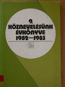 Bakonyi Pál - Köznevelésünk évkönyve 1982-1983 [antikvár]