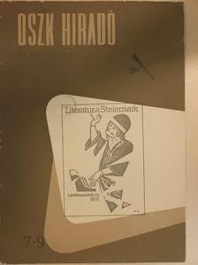 Beleznai László - OSZK Hiradó 1976/7-9. [antikvár]