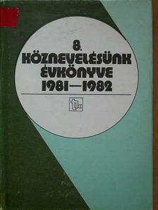 Fazekas Sándor - Köznevelésünk évkönyve 1981-1982 [antikvár]