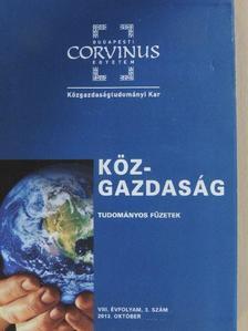 Andor László - Köz-gazdaság 2013. október [antikvár]
