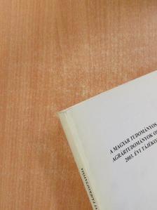 Farkas Róbert - A Magyar Tudományos Akadémia Agrártudományok Osztályának 2003. évi tájékoztatója [antikvár]