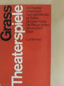Günter Grass - Theaterspiele [antikvár]