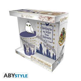 """Abysse Europa Kft. - HARRY POTTER - ajándékcsomag, bögre, pvc kulcstartó """"Hedwig"""" bagoly"""