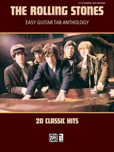 THE ROLLING STONES EASY GUITAR TAB ANTHOLOGY - 20 CLASSIC HITS