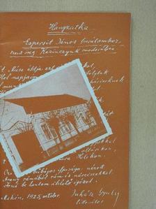 Tóth Ferenc - Az Espersit-ház [antikvár]
