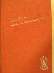 Vicki Baum - Helén doktorkisasszony [antikvár]