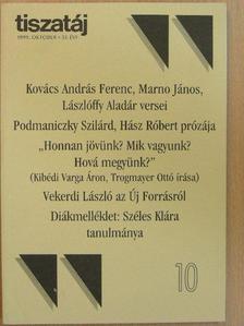 Bíró Zoltán - Tiszatáj 1999. október [antikvár]