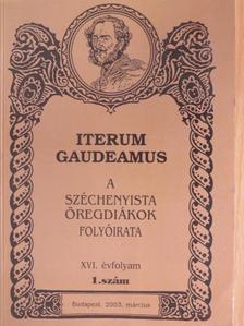 Baumholczer Tamás - Iterum Gaudeamus 2003. március [antikvár]