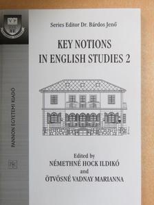 Budai László - Key Notions in English Studies 2 [antikvár]