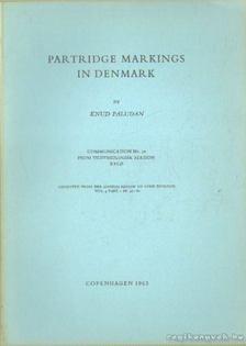 Paludan, Knud - Partridge markings in Denmark [antikvár]