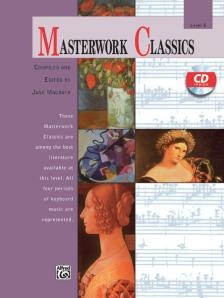 MASTERWORK CLASSICS LEVEL 5. WITH CD -  COMP. & ED. BY JANE MAGRATH