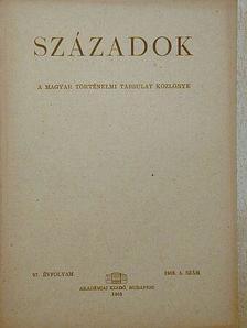 Balogh Sándorné - Századok 1963/5. [antikvár]