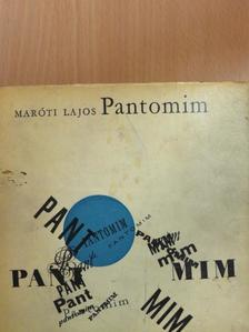Maróti Lajos - Pantomim [antikvár]