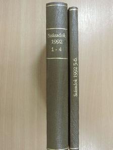 Bak M. János - Századok 1992/1-6. I-II. [antikvár]