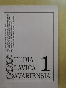 H. Tóth Imre - Studia Slavica Savariensia 2000./1 [antikvár]