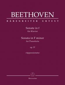 "BEETHOVEN - SONATE IN f FÜR KLAVIER OP.57 ""APPASSIONATA"". URTEXT (J. DEL MAR)"