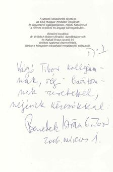 Benedek István Gábor - Dávid (Dedikált) [antikvár]