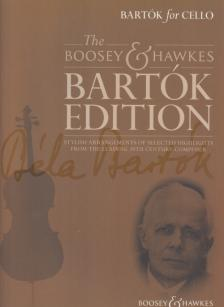 BARTÓK - BARTÓK FOR CELLO. STYLISH ARR. OF SELECTED HIGHLIGHTS (SELECTED AND ARR. HYWEL DAVIES)