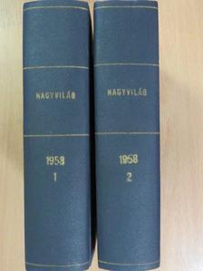 Abody Béla - Nagyvilág 1958. január-december I-II. [antikvár]
