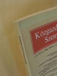 Bognár József - Közgazdasági Szemle 1984. július-augusztus [antikvár]