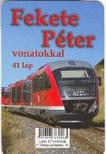 Fekete Péter vonatokkal 41 lap - kártya