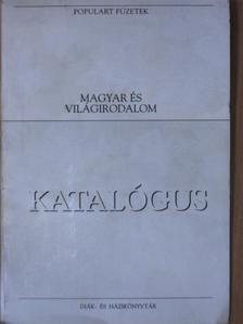 """Ady Endre - """"120 kötet a Populart füzetek sorozatból/Katalógus (nem teljes sorozat)"""" [antikvár]"""