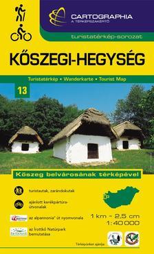 """Cartographia Kiadó - KŐSZEGI-HEGYSÉG TURISTATÉRKÉP 13. 1:40000 - CART. - """"SC"""" -"""