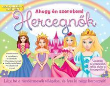 Hercegnők - Lépj be a tündérmesék világába, és fess ki négy hercegnőt!