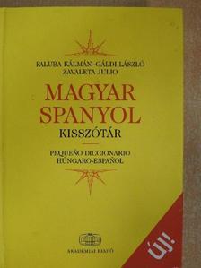 Faluba Kálmán - Magyar-spanyol kisszótár [antikvár]