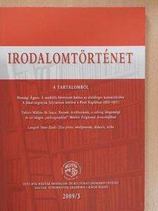 Gerold László - Irodalomtörténet 2009/3. [antikvár]