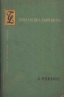 Giuseppe Tomasi di Lampedusa - A párduc [antikvár]