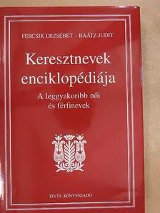 Fercsik Erzsébet - Keresztnevek enciklopédiája [antikvár]