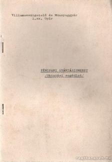 Szalai Zoltán - Fémipari gyártásismeret (Oktatási segédlet) [antikvár]