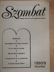 Antal Gábor - Szombat 1990. november [antikvár]