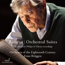 RAMEAU - ORCHESTRAL SUITES 4CD BRÜGGEN, ORCHESTRA OF THE EIGHTEENTH CENTURY