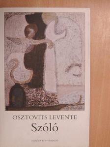 Osztovits Levente - Szóló [antikvár]