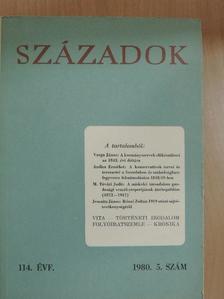 Ádám Magda - Századok 1980/5. [antikvár]