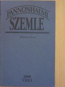 Csengery Kristóf - Pannonhalmi Szemle 2000/3. [antikvár]