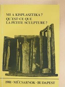 Alexandros G. Xydis - Mi a kisplasztika? [antikvár]