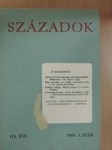 Barta László - Századok 1980/4. [antikvár]