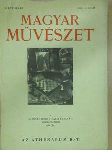 Kaffka Péter - Magyar Művészet 1929/5. [antikvár]